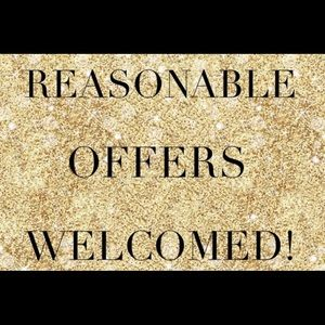 Other - Reasonable offers welcomed